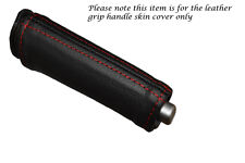 RED STITCHING FITS ALFA ROMEO 159 05-12 LEATHER HANDBRAKE HANDLE COVER ONLY