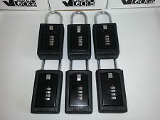 6 Realtor Real Estate 4 Digit Lockboxes Key Lock Box Boxes Comparable to Supra R