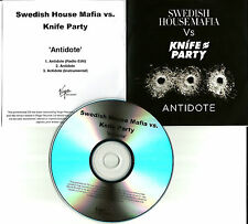 SWEDISH HOUSE MAFIA Antidote w/RARE EDIT & INSTRUMENTAL UK PROMO DJ CD single