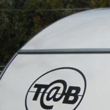 Tab t@b decal graphic teardrop trailer rv camper sticker graphics made in USA