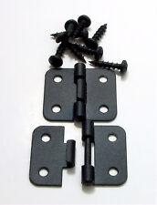 2 Pack Penn Elcom P0644K Take Apart/Lift Off Hinge Black Finish W/Mtg. Screws