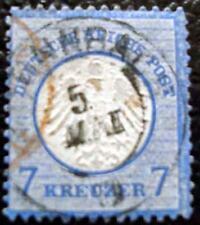 ALLEMAGNE - timbre - yvert et tellier n°10 obl - stamp germany