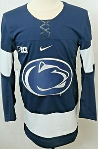 NEW Penn State Nittany Lions Navy Nike Authentic Hockey Jersey Men's S