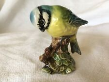 BESWICK BEAUTIFUL PORCELAIN 'BLUE TIT' # 992, MADE IN ENGLAND, EXC COND!