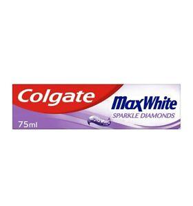 Toothpaste Colgate Max White Sparkle Diamonds vegan 75Ml