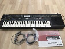 Casio CZ 230S Vintage Synthesizer With Manual And AC Adapter