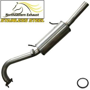 Stainless Steel Exhaust Muffler Tail Pipe fits: 2001-04 Pathfinder 2001-03 QX4