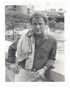 Robert Conrad CBS 1986 One Police Plaza 7x9 Original Portrait HANDSOME