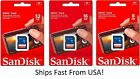SanDisk SD Class 4 8GB 16GB 32GB SDHC Flash Camera Memory Card Wholesale LOT