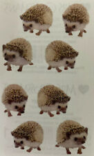 Hedgehog Photoessence Sticker(8pc) Mrs.Grossman's•Sonic• Animal•Mammal •Spiny•Pet