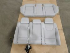 OEM AUDI S4 04-05 REAR TOP & BOTTOM RECARO SEAT CUSHION WHITE LEATHER