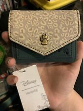 Bnwt Loungefly Leopard Mickey Mouse Wallet
