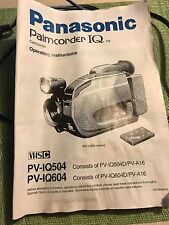 Panasonic VHS-Camcorder Palmcorder IQ 14X Includes Battery