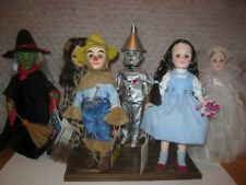 EFFANBEE VINTAGE WIZARD OF OZ COLLECTION SIX CHARECTERS MINT CONDITION TAGS BOX