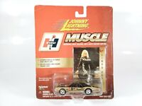 2000 JOHNNY LIGHTNING HURST MUSCLE HAIRY OLDS LINDA VAUGHN CARD #19 NEW NOC 1:64