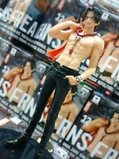 One Piece Jeans Freak Vol.12 Portgas D Ace PVC DXF Figure Red Type A Color Japan