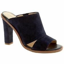 "Banana Republic Iliana Heeled Mule Navy Suede, 4"" Heel, Size 9, New with box"