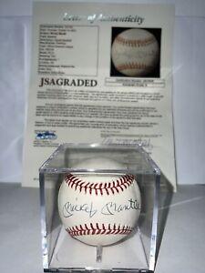 Mickey Mantle Autographed Baseball UDA JSA Graded 9 LOA COA Signed UPPER DECK