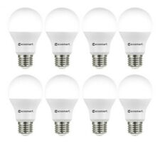 EcoSmart 60-Watt Equivalent A19 LED Light Bulb Daylight (8-Pack)