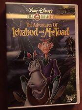 Disney's The Adventures of Ichabod & Mr. Toad DVD ! Rare & OOP!