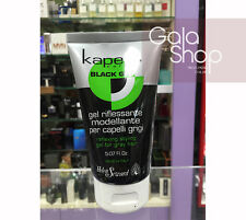 KAPETIL BLACK GEL GEL RIFLESSANTE MODELLANTE PER CAPELLI GRIGI E NERI 150ML