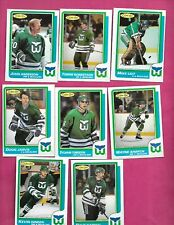 1986-87 OPC HARTFORD WHALERS   CARD LOT (INV# C2027)