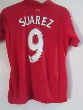 Liverpool 2012-2013 Home SUAREZ 9 Football Shirt Medium/41310