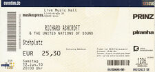 Richard Ashcroft colonia Live Music Hall ticket di 2010