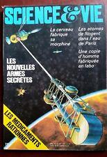 Science et vie n°739 du 4/1979; Les nouvelles armes secrètes/ Copie d'homme