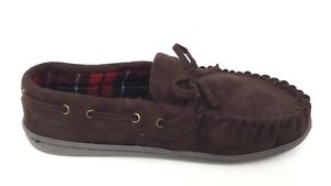 NEW! Canyon River Blues Toddler Boy's Lil' Liam Moccasin Dk Brn #52186* 191A pm