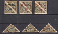 AY5565/ ESTONIA – AIRMAIL – 1920 / 1923 MINT MH SEMI MODERN LOT – CV 315 $