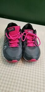 RBX Comfort Sock Shoes Black/Pink Sneakers Women's Size 8