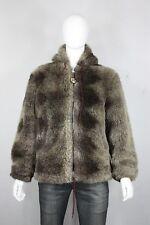 vintage Lakeland faux fur jacket 42 60's 70's bomber parka yeti made in usa