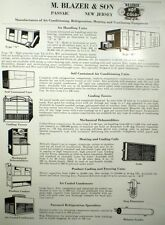 M. Blazer & Son COOLING TOWER Transite ASBESTOS Page Ad