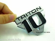 TRITON V 10 3D Badge Logo Sticker Chevrolet Spark Sail Beat Cruze Tavera Aveo