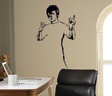 Bruce Lee Wall Vinyl Decal Film Actor Vinyl Sticker Martial Artist Home Decor 15