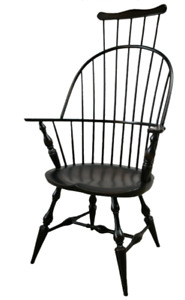 NEW Handcrafted Custom Made Colonial Style WINDSOR Combback Arm Chair or Rocker