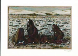 BILLY CHILDISH SIGNED AND NUMBERED NY CHARIOT GICLEE 2013 MINT  34/200