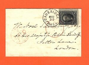 "US #90 12c Washington ""E"" Grill on cover with Philatelic Foundation Certificate"