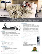 reverie 8q twin xl adjustable base | ebay