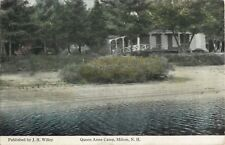 A View Of Queen Anne Camp, Milton, New Hampshire NH 1920