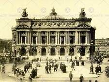 ARCHITECTURAL PARIS OPERA HOUSE ORNATE FRANCE ART PRINT POSTER BB10174