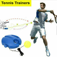Tennis Ball Singles Training Practice Balls Back Base Trainer H5K Tools O9O8