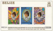 (13590) Belize MNH Prince William Birth 1982 unmounted mint