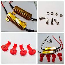 4X 50W 6ohm LED Load Resistor Fix LED Bulb Fast Hyper Flash Turn Signal Blink