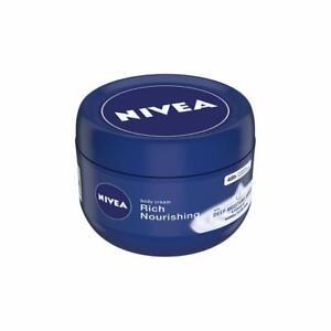 NIVEA Body Cream, Rich Nourishing, For Normal to Dry Skin, 250ml Free Ship