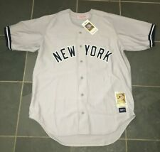 NWT Authentic Mitchell Ness 1977 CATFISH HUNTER New York Yankees Jersey 48 XL