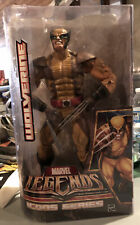 """2006 Marvel Legends Icons Wolverine Brown Costume 12"""" Hasbro Action Figure New"""