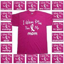 Breast Cancer Awareness T Shirt Survivor Walk Run T Shirt Tee Shirts Top