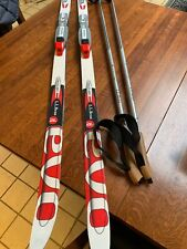 LL Bean Discovery Positrack Skis LL Bean Cross Country Ski Set skis & poles